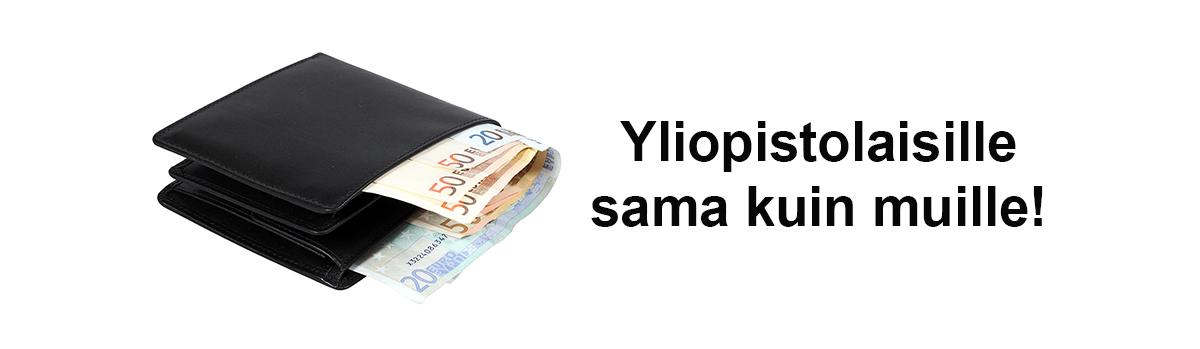 musta lompakko, josta näkyy seteleitä